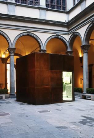 Michelangelo Pistoletto - cortile Palazzo Strozzi