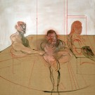 Francis Bacon, Untitled (Three Figures), c. 1981