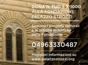 5 per mille Fondazione Strozzi